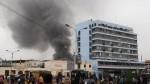 Mesa Redonda: cierran accesos vehiculares por incendio en galería La Cochera - Noticias de jiron andahuaylas