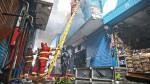 Mesa Redonda: tras incendio ordenarán clausura temporal de galería 'La Cochera' - Noticias de ana mendoza