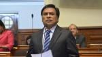 Velásquez Quesquén: Es una vergüenza que el Congreso no se pronuncie sobre Alarcón - Noticias de javier velasquez quesquen