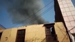 Incendio afecta a galería cerca de Mesa Redonda - Noticias de jiron andahuaylas
