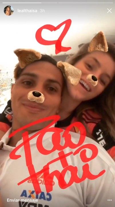 Paolo Guerrero y Thaísa Leal lucen muy enamorados