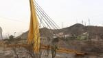 Puente Solidaridad: estructura caída recién será habilitada en el 2018 - Noticias de peaje