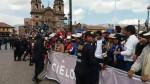 Cusco: profesores tomaron la plaza mayor por cuarto día consecutivo - Noticias de huelga