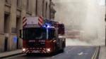 Londres: gran incendio en el centro de la capital británica - Noticias de soho