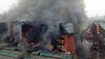 Las Malvinas: humo tóxico de incendio tardará varios días en disiparse - Noticias de oit