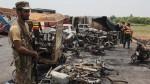 Pakistán: al menos 139 muertos por fuerte explosión de camión cisterna - Noticias de coche bomba