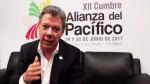 Alianza del Pacífico: Juan Manuel Santos anunció la integración de 4 países - Noticias de colombia juan manuel santos
