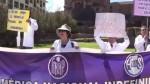 Cusco: médicos realizaron plantón en explanada del Coricancha - Noticias de coricancha