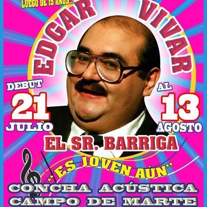 Edgar Vivar regresa Lima con temporada de circo