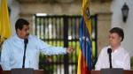 """Maduro a Santos: """"Híncate ante tu padre, soy tu padre Santos"""" - Noticias de colombia juan manuel santos"""
