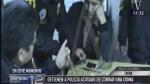 Tacna: policía fue intervenido por recibir una presunta coima - Noticias de accidente tacna