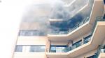 El Salvador: al menos dos muertos por incendio en Ministerio de Hacienda - Noticias de dr julio segura