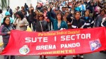 Sutep: profesores realizan paro nacional de 24 horas - Noticias de velasco astete