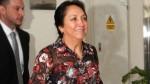 Nadine Heredia: su madre llegó al penal Anexo de Mujeres de Chorrillos - Noticias de heredia alarcon