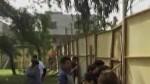 Ate: vecinos protestan por construcción de colegio en un parque - Noticias de simulacros de sismo