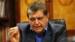 Alan García no asistió a citación de la fiscalía por caso Olmos - Noticias de julio grados