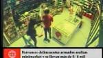 Barranco: se llevan S/ 8,500 en asalto a minimarke...