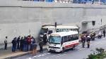 'Chosicano': suspenden autorización de empresas de transporte tras choque - Noticias de municipalidad de chosica