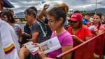 Unos 25 mil venezolanos cruzan a diario la frontera con Colombia - Noticias de canasta familiar