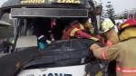 Chosica: 6 personas quedaron heridas en choque entre 'chosicanos' - Noticias de accidente de carretera