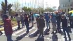 Arequipa: profesores intentaron bloquear acceso al aeropuerto Rodríguez Ballón - Noticias de arequipa