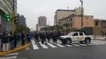 Centro de Lima: profesores en huelga bloquearon la avenida Abancay - Noticias de jimmy chinchay