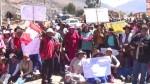 Cusco: padres de familia bloquean carretera en apoyo a huelga de profesores - Noticias de escolares varados