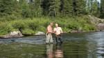 Vladimir Putin pasa sus vacaciones pescando con el torso desnudo - Noticias de ballenas