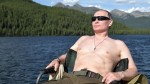 Vladimir Putin pasa sus vacaciones pescando con el torso desnudo - Noticias de barco atrapado
