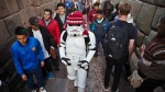 Facebook:  el 'Cholo Trooper' de Star Wars visitó Cusco y la pasó así - Noticias de darth vader