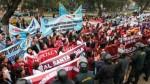 Centro de Lima: obstetras protestan en la plaza Bolognesi - Noticias de nueva escala remunerativa