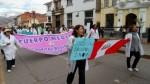Médicos de Cusco continúan en huelga y preparan marcha - Noticias de huelga médica