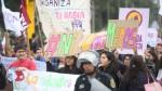 #NiUnaMenos: así se realizó la marcha contra la violencia a la mujer - Noticias de campo de marte