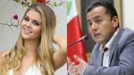 Brunella Horna publica su primera foto con congresista Richard Acuña - Noticias de fiestas patrias