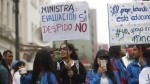 Huelga de profesores: escolares llegaron a la plaza San Martín - Noticias de fuerza popular