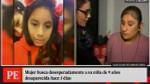 Madre denuncia que su hija de 9 años desapareció hace 3 días - Noticias de juan iglesias