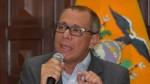 Ecuador: Congreso autoriza investigar a vicepresidente Jorge Glas por corrupción - Noticias de odebrecht