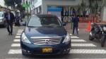 Miraflores: auto bloqueó paso peatonal en calle Porta - Noticias de miguel garavito