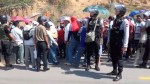 Bagua: maestros bloquearon tramo de la carretera Fernando Belaunde Terry - Noticias de desmanes