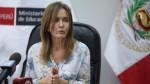 """Ministra Martens: """"Esta semana 1 millón de niños han reanudado sus clases"""" - Noticias de yamilia"""