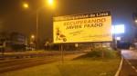 Avenida Javier Prado: trabajos de mantenimiento iniciarán a las 11:30 p.m. - Noticias de accidente