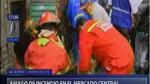 Cortocircuito habría provocado incendio en local en el Mercado Central - Noticias de incendios en lima