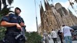 Barcelona: Policía confirma falsa alarma cerca de Sagrada Familia - Noticias de atentado