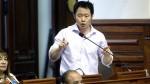 Kenji Fujimori presentó proyecto para restituir bicameralidad en el Congreso - Noticias de autogolpe del 5 de abril