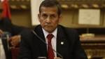 """Humala: """"Afrontamos la justicia porque no tenemos nada que temer"""" - Noticias de lavado de activos"""