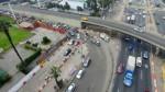 Surco: obras del intercambio vial El Derby sin presencia de trabajadores - Noticias de obras paralizadas
