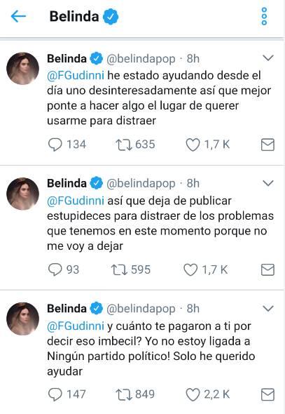 Belinda y Alfredo Gudinni