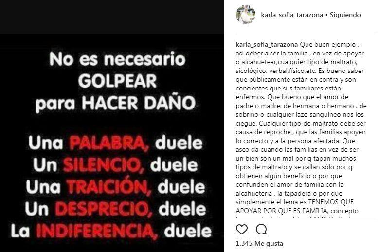 Karla Tarazona se solidarizó con mujer agredida en Miraflores