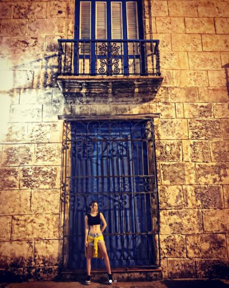 Belinda en Cuba