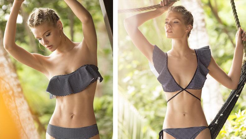 Bikini para pechos pequeños